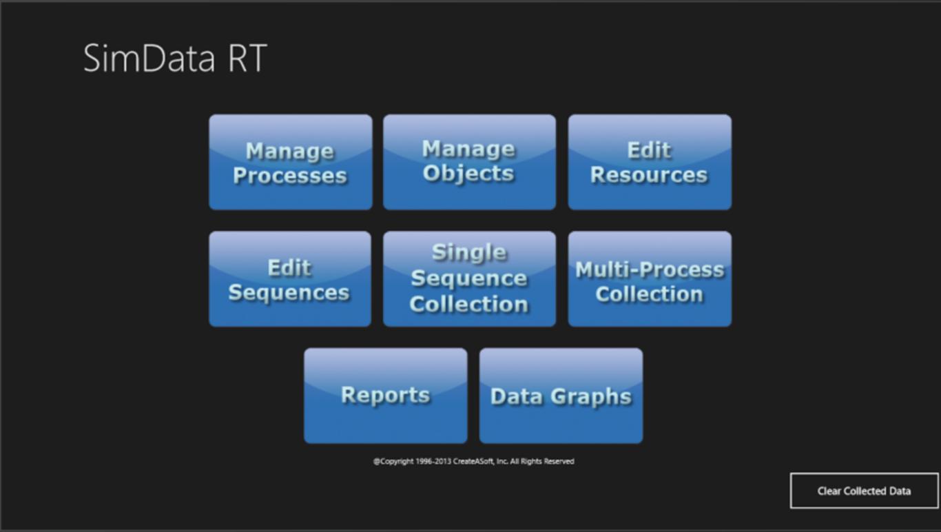 Define motion study - Simdata Main Controll